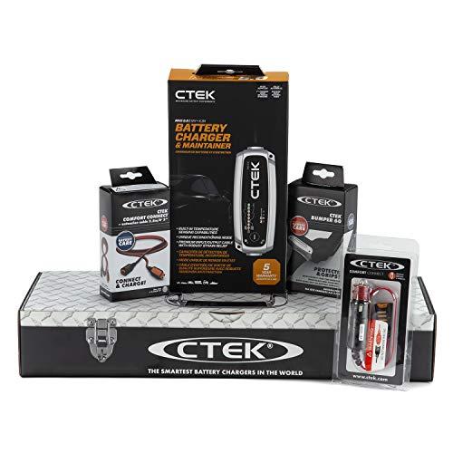 CTEK (40-206) MXS 5.0 12Volt Battery Charger Vehicle Storage Bundle