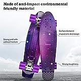 Zoom IMG-1 gonex skateboard completo mini cruiser
