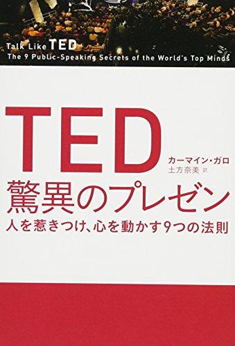 カーマイン・ガロ『TED 驚異のプレゼン』