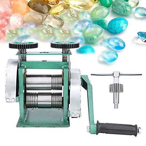 Rosvola Máquina laminadora Manual, máquina combinadora de Laminado de prensado de Laminado de Prensa 85M para el diseño y la reparación de joyería