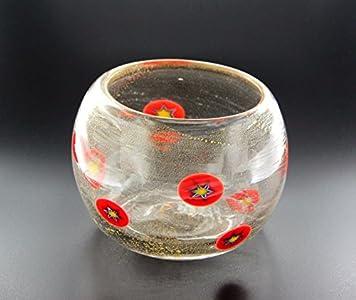 Murano Collection - Copa antigua Murrina veneciana de cristal de Murano Made in Italy