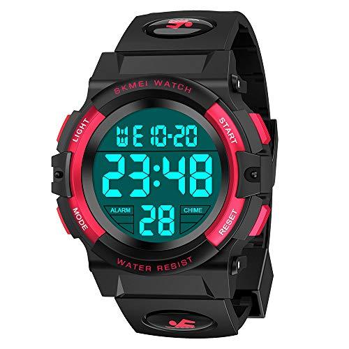 Dreamingbox Geburtstagsgeschenk für Jungen 6-12 Jahre, wasserdichte Outdoor Sport Digital Armbanduhren Spielzeug für Jungen 5-12 Jahre Geschenke für Teenager Mädchen