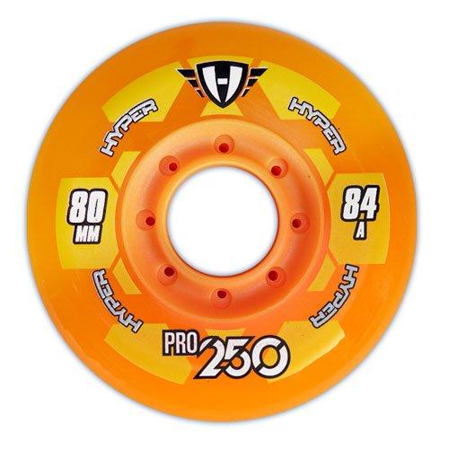 Hyper PRO 250 Inlinerolle 84A 72mm orange 4 Stück