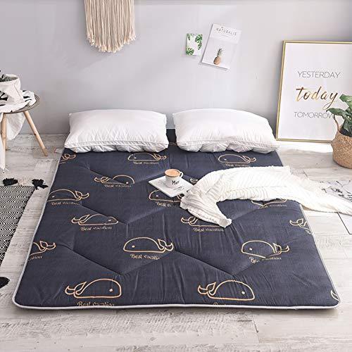 LXSHMF Sleeping Tatami Floor Mat,Soft Breathable Futon Tatami Mattress Pad Thick Japanese Foldable Mattress For Student Dormitory Mattress Topper B 150x200cm(59x79inch)