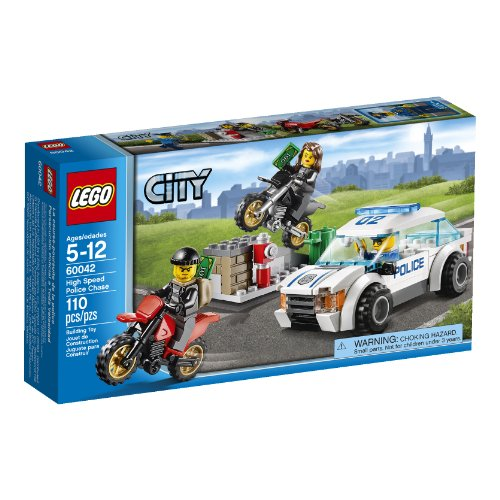 LEGO City High Speed Police Chase [60042 - 110 pcs]