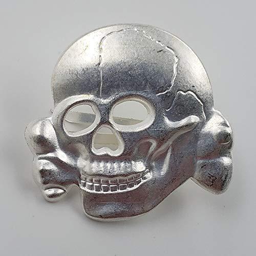 Broche con logotipo de calavera y broches antihéroes para cosplay de metal, alfileres para mochila, ropa, sombrero, accesorios pin