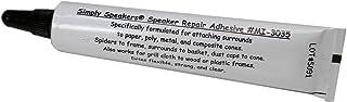 Speaker Repair Adhesive, Foam Edge, Spider, High Strength, Clear, MI-3035