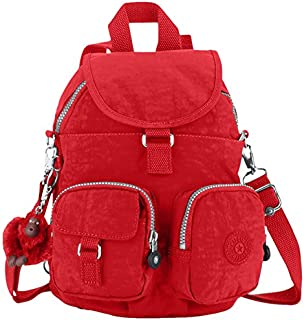 Kipling Firefly N, Sac porté dos mode Mixte adulte - Rouge (Tango Red)