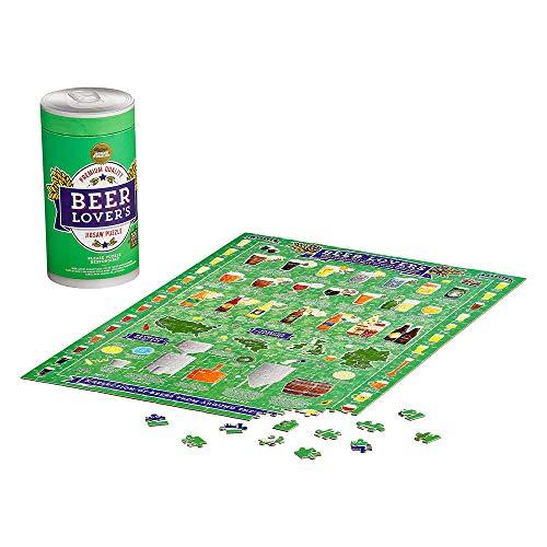 Beer Lover'S Piece Jigsaw Puzzle Rompecabezas de 500 Piezas para Amantes de la Cerveza, Multicolor (JIG044)