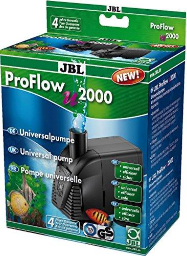 JBL ProFlow u2000 60585 Universalpumpe mit 2000 l/h zur Umwälzung von Wasser in Aquarien und Terrarien