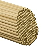 Dowel Rods Wood Sticks Wooden Dowel Rods – 3/4 x 48 Inch Unfinished Hardwood Sticks – for Crafts and DIY'ers – 5 Pieces by Woodpeckers