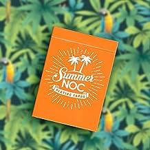 Tavoloverde Cartas de Juego NOC Limited Edition Summer - Orange
