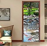Wandtattoos Wandbilderselbstklebende Tür Aufkleber