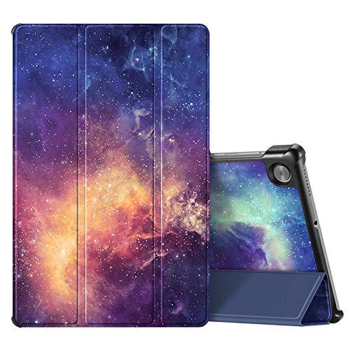 Fintie SlimShell Funda Compatible con Lenovo Tab M10 HD (2.ª generación) 2020 - Tablet de 10.1' Carcasa Fina y Ligera con Función de Soporte y Auto-Reposo/Activación, Galaxia