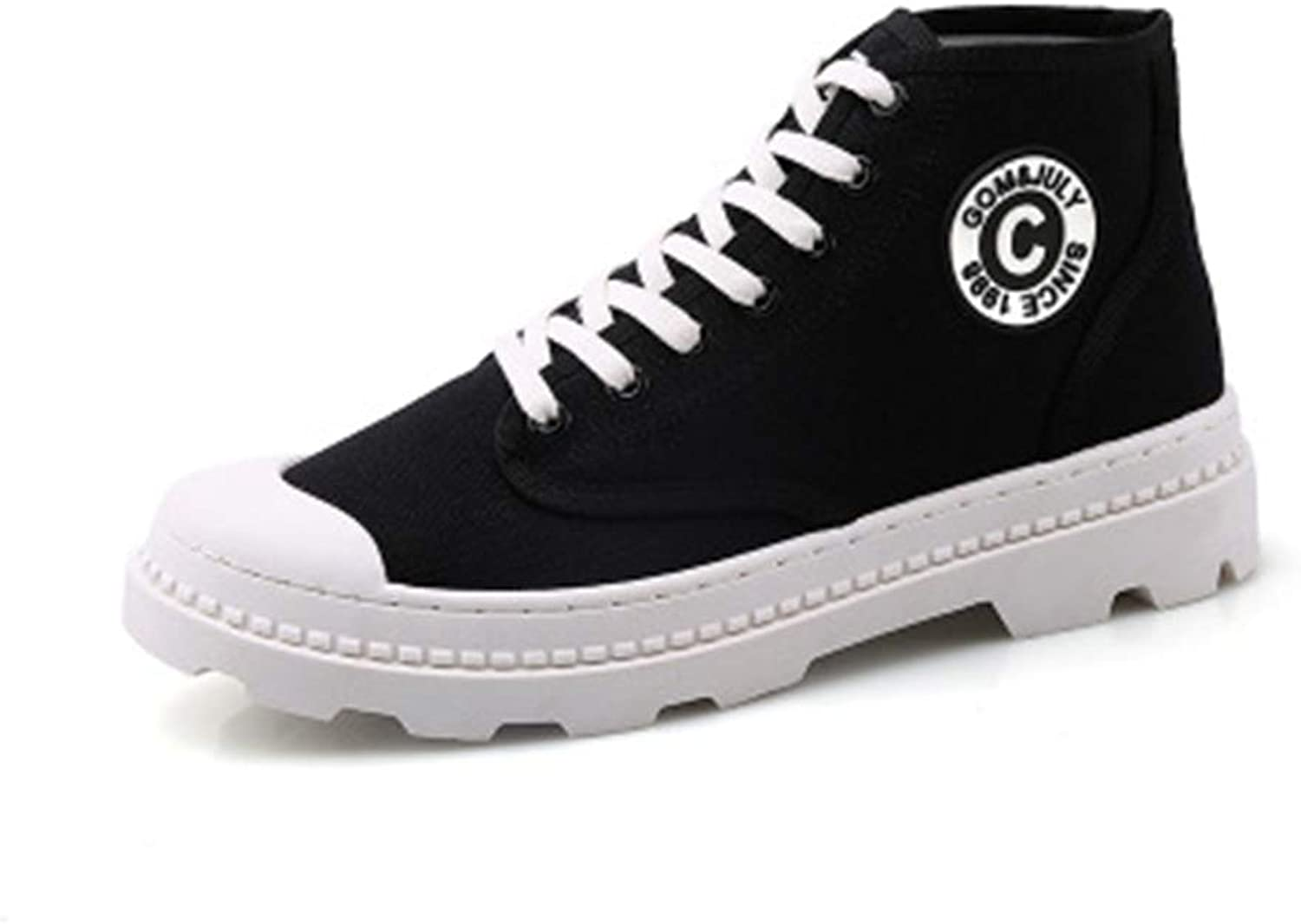 LYLIFE Comfort School Fashion Street Style High Top Canvas Sneakers Sports shoes
