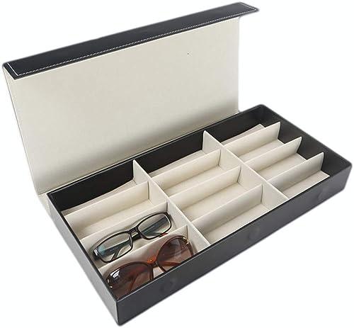 caliente GLJ GLJ GLJ Gafas De Sol Gafas De Sol con 12 Ranuras Gafas Gafa Caja De Almacenamiento, Color Beige Joyero  Tienda de moda y compras online.