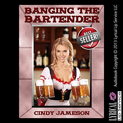 Banging the Bartender audiobook cover art