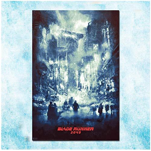chtshjdtb Blade Runner 2049 Movie Art Poster Leinwand Malerei Wandbilder Drucken Wohnzimmer Wohnkultur Geschenke-50X70Cm Kein Rahmen 1 Stck
