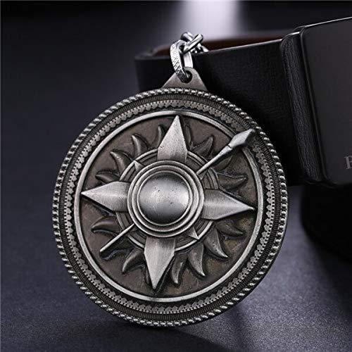 Juego de Trono Llavero House Tyrell Logo aleación llaveros de Metal para Mujeres y Hombres