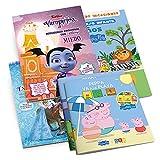 Kit Cuadernos de Vacaciones: Cuentos Inteligencia Emocional Disney | Aprender Valores con Peppa Pig | Educación Infantil de 3 a 5 años