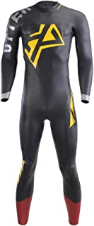 UTTER Xprana 5/3mm Triatlón Surf Traje de neopreno de manga larga para natación en aguas abiertas Ironman