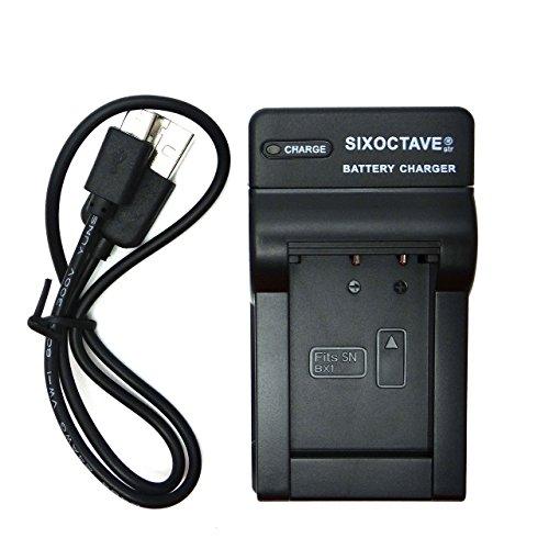 [str] ソニーサイバーショット HDR-GWP88V/HDR-GW66V/DSC-RX100/DSC-HX300/DSC-HX400V / DSC-HX60V / DSC-WX350/HDR-MV1 / HDR-AS100V / HDR-AS100VR/DSC-RX1R / DSC-RX100M2/HDR-AS30V / HDR-AS30VR/HDR-AS15 / DSC-RX1 / DSC-RX100/DSC-HX50V / DSC-HX300 / DSC-WX300/HDR-AS200V/FDR-X1000V/RX100 IV/DSC-RX100M4/DSC-RX100VII/DSC-RX100VI デジタルカメラ対応互換急速充電器USBチャージャーBC-TRX NP-BX1 カメラバッテリー対応