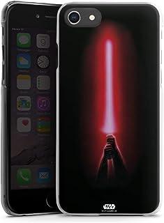 Hardcase compatibel met Apple iPhone SE (2020) Hoesje Doorzichtig Telefoonhoesje Fanartikel Laserzwaard Star Wars