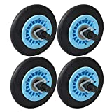RDEXP Dryer Replacement Part 9.8mm Thread Dia DC97-16782A Dryer Drum Rollers Compatible Repairing Tool Pack of 4