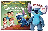 Disney Parks Stitch Poseable Plush and ''Holiday Mischief with Stitch'' Book Set -  DisneyThemeParks