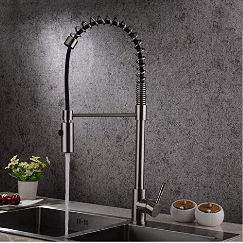 Lddpl Küchenwasserhahn Aus Edelstahl Mit 304 Heiem Und Kaltem Wasser Multifunktionalen Ziehpumpenarmatur Im Europischen Stil 6