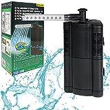 BPS (R Filtro Profesional Acuario, Filtro Interno para Pecera,Ahorro de Energía.(4.8W,240L/H) BPS-6045