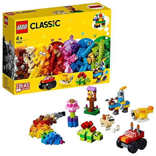 LEGO 11002 Classic Ladrillos Básicos, Juego de Construcción para Niños y Niñas +4 años