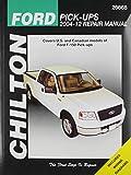 Chilton Total Car Care Ford Pick-Ups 2004-2012 Repair Manual (Chilton's Total Car Care Repair Manual)