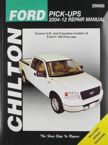 Chilton Total Car Care Ford Pick-Ups 2004-2012 Repair Manual