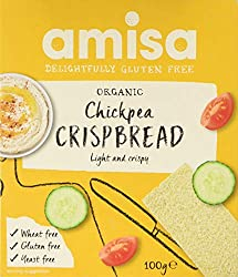 Delicious and light chickpea crispbread Packed in handy snack packs for optimum freshness Convenient for lunchboxes and on the go Healthy alternative