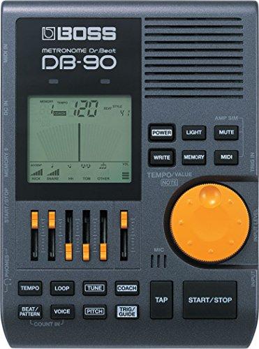 BOSS DB-90 Digital Metronome, 4 Metronome Sounds & Midi Inpu