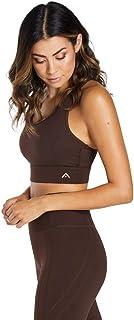 Rockwear Activewear Women's Savannah Hi Keyhole Sports Bra Chocolate 10 From size 4-18 Bras For