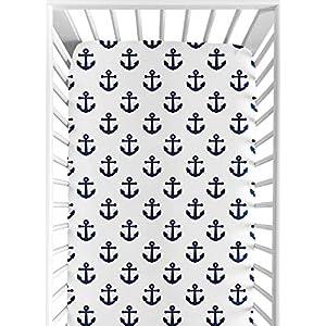 51pLk-yzPTL._SS300_ Nautical Crib Bedding & Beach Crib Bedding Sets
