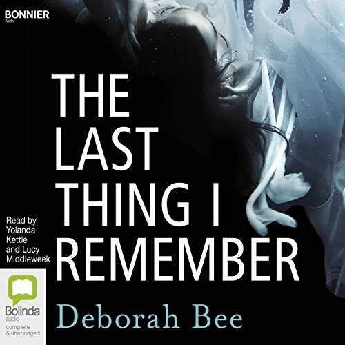 The Last Thing I Remember audiobook cover art