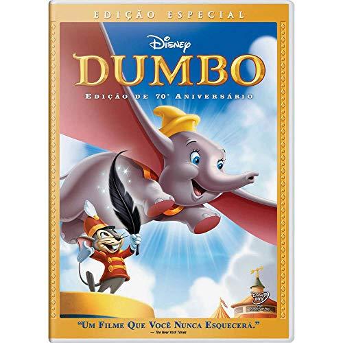 Dumbo Edição De 70º Aniversário [Blu-ray]
