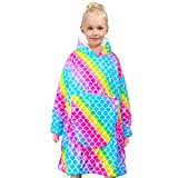 Hooded Blanket For Kids Unicorn