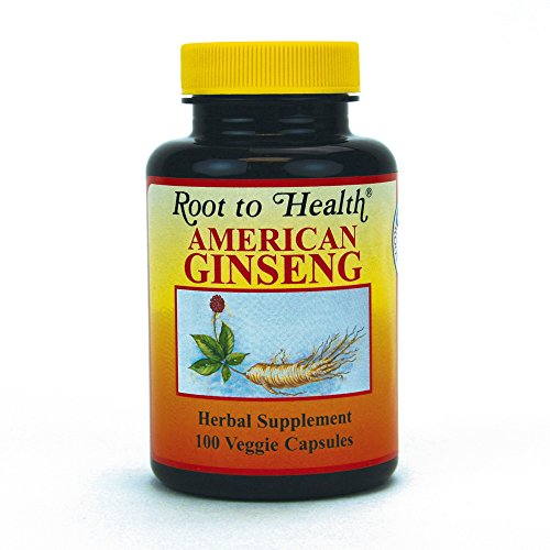 HSU's Ginseng SKU 1001 | American Ginseng Capsules 100ct| Cultivated Wisconsin American Ginseng Direct from Hsu's Ginseng Gardens | 许氏花旗参丸 | 500 mg 100 ct Capsules Bottle, B000153QYG