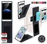 Hülle für Oppo R7 Plus Tasche Cover Case Bumper | Schwarz