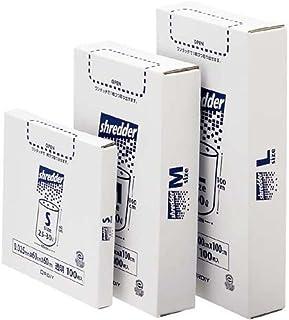 エコマーク認定商品 シュレッダーの切りくずを 入れる専用のポリ袋 オルディ ポリバッグ シュレッダー用BOX M中(90Lから95L) 透明 100枚 3入