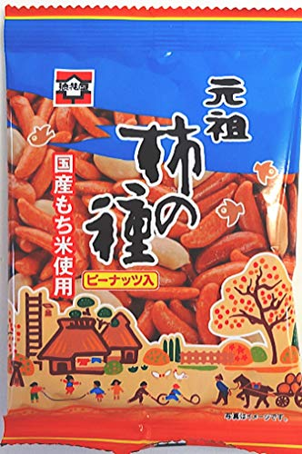 浪花屋 元祖柿の種ピーナッツ入27g×30袋(国産もち米使用)