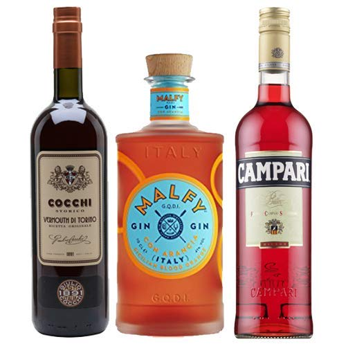 Photo of The Secret Bottle Shop Negroni Cocktail Kit – 3 x 70cl
