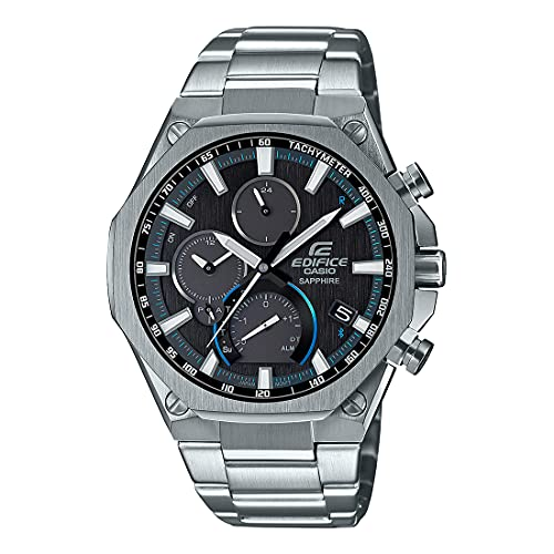 Casio Edifice Bluetooth Connect Chronograph Black Dial Men's Watch EQB-1100D-1ADR(ED503)