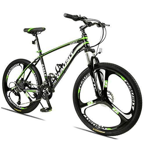 Muyu 24 versnellingen (27 versnellingen, 30 versnellingen) en 26 inch wielen met schijfremmen frame van aluminiumlegering unisex fiets 26 inch mountainbike