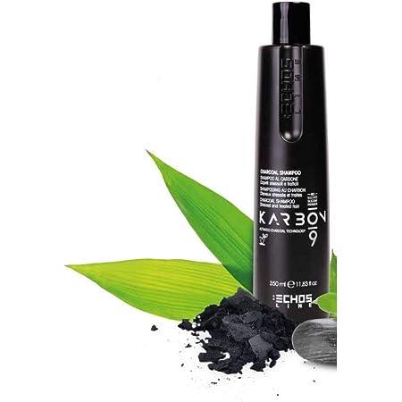 Echosline Karbon 9 Charcoal Shampoo Al Carbone Per Capelli Stressati - 350 ml