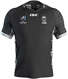 HFJLL R/éplica de la Camiseta de Las Camisetas de f/útbol de Local y visitante de la Copa Mundial de Rugby Fiji 2019